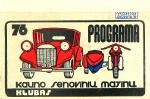 1976m. Programa